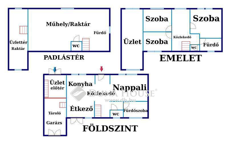 Eladó Ház, Jász-Nagykun-Szolnok megye, Jászberény, 2 generációs ház+üzlet! Családi vállalkozásnak!