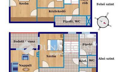 Felsővárosi 11 lakásos társasház tavaszi átadással